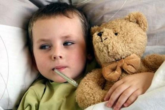عفونت گوش و تب