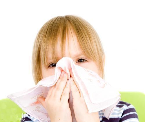 درمان گرفتگی بینی بچه ها