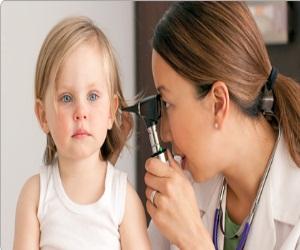 عفونت گوش درد در کودکان